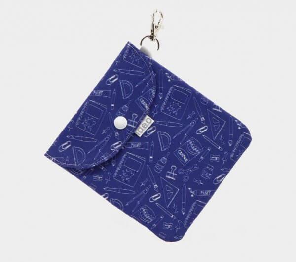 bolsa porta mascarillas de tela Ideo matemáticas